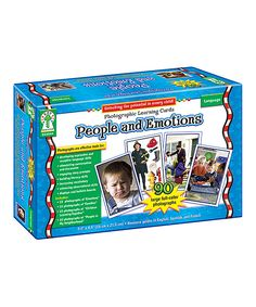 Carson Dellosa People & Emotions Learning Cards Set | zulily