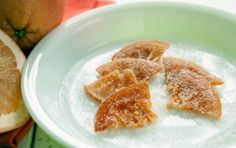Candied Grapefruit Slices