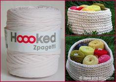 Bobine tissu recyclé Hoooked Zpagetti