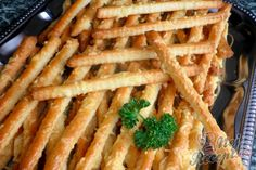 snacks for party Czech Recipes, Ethnic Recipes, Appetizer Recipes, Appetizers, Recipe Scrapbook, Silvester Party, Cooking Recipes, Healthy Recipes, Food Cravings