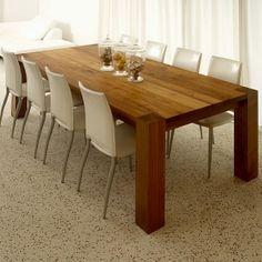Danish Teak Dining Table Laurits M Larsen Mid Century Modern