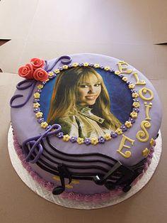 Hannah Montana birthday Cake for Alex!