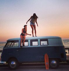 I want a hippy van or an old VW bug and to live on or near the beach when i get older. Now if only i knew how to surf...