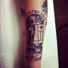 #r2d2, #starwars, #r2d2 tattoo