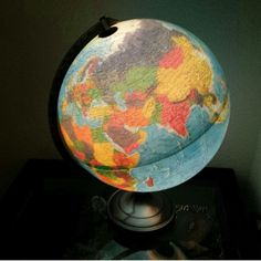 Let this globe light up your world!