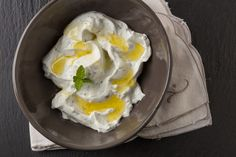 Turkish Yogurt Sauce. Paula Wolfert learned to make this sauce in Turkey, designed for drizzling on grilled vegetables and meats as well as grain dishes and Wolfert's Megadarra (see related recipe). via the Washington Post
