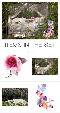 """Sleeping Beauty"" by rubysal ❤ liked on Polyvore featuring art"