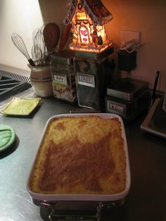 Baked Grits & Cheese
