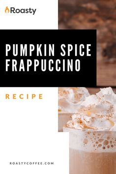 A delicious DIY Starbucks drink that will taste like homemade heaven. You're taking the pumpkin spice drink to the next level and making it even more decadent and dessert-like! If you like the taste of the original PSL, you HAVE to try this frappuccino! // coffee // recipe coffee // diy coffee // recipes with coffee // coffee recipes // at home coffee recipes // delicious coffee // Pumpkin Spice Frappuccino, Frappuccino Recipe, Latte Recipe, Coffee Drink Recipes, Coffee Drinks, Coffee Creamer Recipe, Vietnamese Iced Coffee, Homemade Syrup, Coffee Coffee