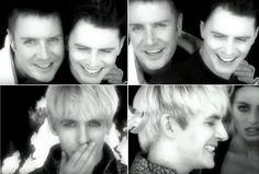 Screen caps from Duran Duran's song Serious (Liberty, 1990)