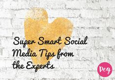 Super Smart Social Media Tips from the Experts A righteous wrap up of social media tips from the BlogHer conference with Facebook, Pinterest, Tumblr, and Periscope tips.