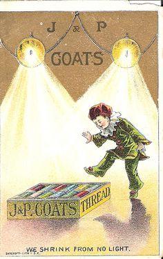 Victorian Trade Card - J&P Coats | Flickr - Photo Sharing!