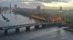 London in January