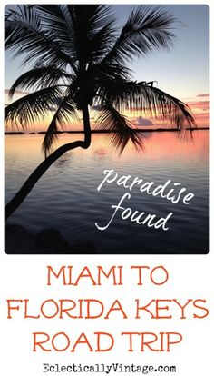 Found - Miami to Key West Road Trip Miami to Key West & Florida Keys Road Trip - where to stay & eat and what to do! Miami to Key West & Florida Keys Road Trip - where to stay & eat and what to do! Key West Florida, Florida Keys, Florida Vacation, Florida Travel, Vacation Places, Dream Vacations, Vacation Spots, Travel Usa, Places To Travel