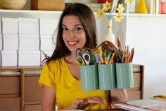 About Madame Criativa - Bianca Barreto Quem Somos. #pencilholder #cutleryholder #howto