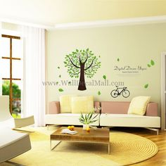 Digital Dream Utopia Tree Wall Decals – WallDecalMall.com