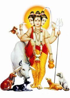 Lord Dattatreya, or Sri Datta, as he is also referred to, is a Hindu deity who is also regarded as an aspect of the Divine Trinity or Trimurti of Brahma, Vishnu and Maheshwara. Guru Wallpaper, Wallpaper Images Hd, Shiva Wallpaper, Shiva Art, Hindu Art, Kali Hindu, Mahakal Shiva, Om Namah Shivaya, Krishna Avatar