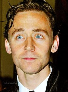 Tom Hiddleston <3 He kills me with those eyes!