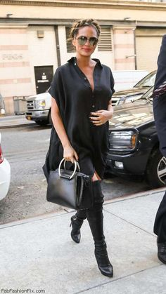 Chrissy-Teigen-out-and-about-in-New-York--01