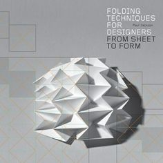 Really useful book providing step-by-step instructions for creating 3D paper patterns and forms.