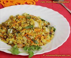Indian Oats Recipe - Oats Matki Breakfast