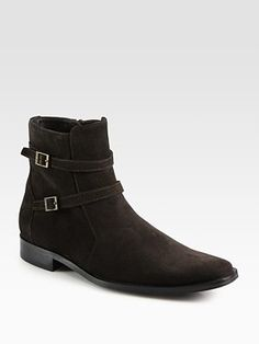BOSS Black Laxon Suede Boot