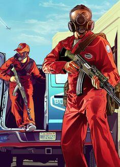 GTA 5 - art