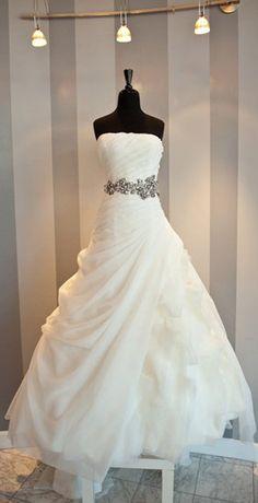 White Elegant Strapless Long Ball Gown Wedding Dresses Beautiful Designer Floor Length Plus Size Formal Bridal Gowns,Ball Gown Wedding Dress,Dress for Wedding