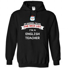 2017 XMAS EDITION English Teacher T Shirts, Hoodie. Shopping Online Now ==►…