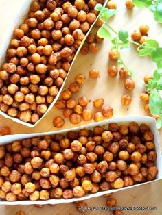 Tasty Dumpling: Kichererbsen a la Crunchy - Gourmet Recipes, Vegan Recipes, Cooking Recipes, Sausage Recipes, Healthy Snacks, Healthy Eating, Food Inspiration, Food To Make, Good Food