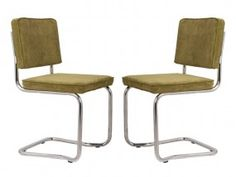 Ridge Kink Rib Stuhl Stühle Freischwinger
