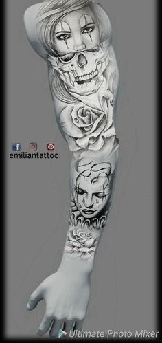 Bear Tattoos, Skull Tattoos, Lion Tattoo, Body Art Tattoos, Hand Tattoos, Sleeve Tattoos, Warrior Tattoos, Badass Tattoos, Graffiti Tattoo