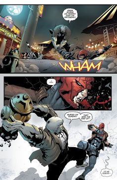 "jason todd back at it again with the ""i was dead once"" jokes<<<<<<<Red Hood and the Outlaws (2016) Issue #12 - Read Red Hood and the Outlaws (2016) Issue #12 comic online in high quality"