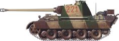 Panther  Aust A. №-221, 2nd Company, 15 Pz.Rgt., 11 Pz. Div. eastern front.1943.