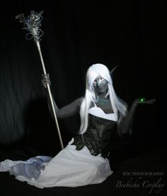 Drow Sorceress 4 by Beebichu.deviantart.com on @deviantART