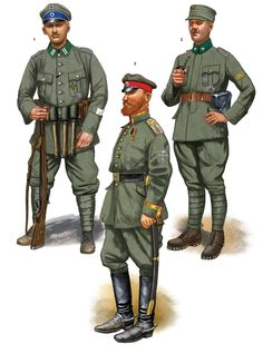 German and White Russian Volunteers in the Baltics