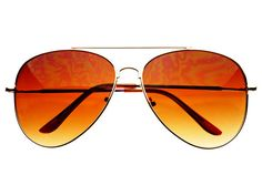 Classic Gold Metal Large Retro Aviator Sunglasses A781 – FREYRS - Beautifully designed, cheap sunglasses for men & women