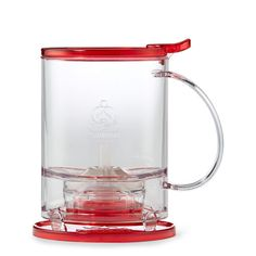 An efficient, simple and clean way to steep tea. Add tea and water at the correct temperature, then put the tea maker on your favorite mug.