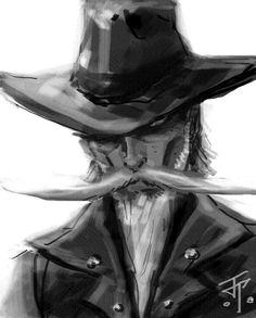 d412c947028ecf4b1dc72360ee61db8a--old-west-cowboy-art.jpg (612×761)