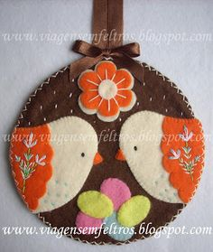 Craft: Reizen in Vilt en Farrapos ®--very cute for easter