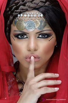 Arab Princess................ http://www.pinterest.com/pin/513480794988416964/