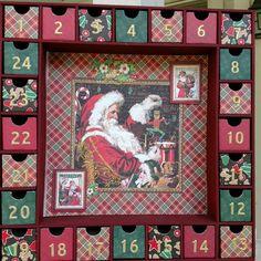 "Graphic 45 ""St Nicholas"" Christmas Advent Calendar by SmartArtbySusie on Etsy"