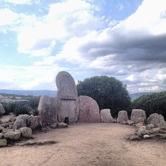 Giant's Tomb. A meghalitic monument 4000years'old in Sardinia (Italy)