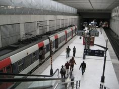 RER B terminal, Charles de Gaulle to Paris