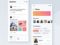 Social Networking App designed by Reza Shintia Dewi. Connect with them on Dribbble; Web Design, Ios App Design, Mobile App Design, Interface Design, Design Art, Graphic Design, Interior Design, App Design Inspiration, Creative Inspiration