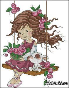 Swings in roses (Татьяна Марчукова)