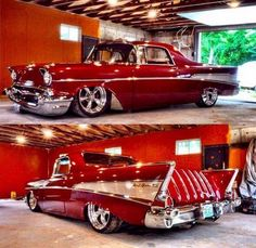1957 Customized Chevrolet.