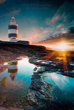 Sunrise at Hook Head, Ireland ♥ #travel