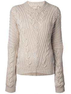 Laneus Wool Blend Sweater - O' - Farfetch.com