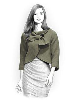 Personalized Jacket Sewing Pattern Women Jacket by TipTopFit, $2.49
